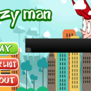Crazy man game